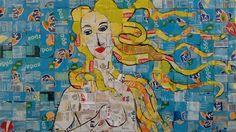 TRASH-ART....CHIOS...GREECE Chios Greece, Trash Art, Alternative Art, Greek Art, Crafts For Kids, Painting, Inspiration, Crafts For Children, Biblical Inspiration