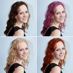 Photoshop tutorial – Haarkleur veranderen in je foto met Photoshop. www.fotografille.nl