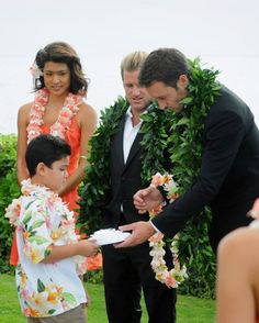 ♥♥♥♥♥  Hawaii Five-0 2x12: Chin's Wedding