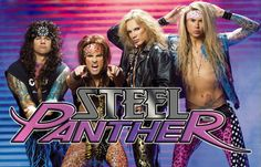Listening: Steel Panther // They make The Darkness look tame.