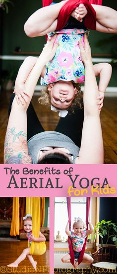 AMAZING benefits of aerial yoga for kids...