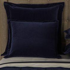 Velvet Moonlight Decorative Pillow by Frette