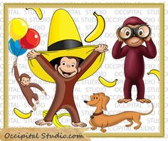 Hey, I found this really awesome Etsy listing at https://www.etsy.com/listing/153953244/curious-george-transparent-background-18
