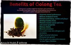 oolong tea benefits - Google Search