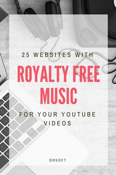 Do you want to improve your videos by adding some royalty free music and sound effects? Here are the best places to find it. Youtube Hacks, You Youtube, Youtube Free Music, Youtube Logo, Free Music Sites, Start Youtube Channel, Youtube Editing, Youtube Setup, Tutorials