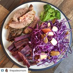 Our Everyday AIP spice blends are a hit!! Thanks for the love @thepaleomom  #everydayaip #primalpalatespices  # #Repost @thepaleomom  Dinner tonight:  lamb seasoned with @primalpalate Gyro AIP seasoning mix purple sweet potato fries purple cabbage slaw (with apple and pecans) and steamed broccoli.  Apparently I was craving anthocyanins!  Lol! #phytochemicals #paleo #almostAIP #morevegetablesthanavegetarian #threequartersveggies