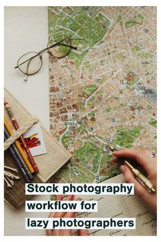 I don't want to say I am a lazy photographer, but it's nice not to make too much effort. And stock photography can be one of those time and energy-consuming tasks I'd prefer not to do. So enter the minimal effort stock photography workflow.