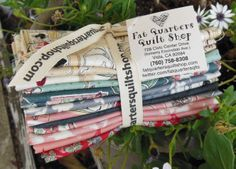 This fabric collection is sew much fun! From Makower UK... designed by Henley Studio, 'Temptations' fat quarter bundles are ready :) $39.00