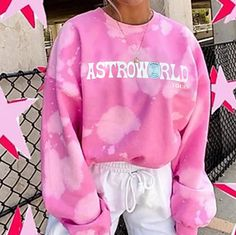 Sweatshirt Outfit, Tie Dye Sweatshirt, Crew Neck Sweatshirt, Hoodie Sweatshirts, Printed Sweatshirts, Hoodies, Adrette Outfits, Preppy Outfits, Chill Outfits