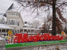 St. Louis MO  Magic House Children's Museum October 2006 (A MUST for children!)