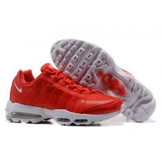 best service 863f6 02d7b Nike Air Max 95 Ultra Eential Gym Red White Italy