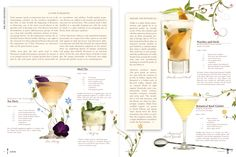 flavorsmagazine.com Photography: John Haigwood  Editorial Layout: Denise Wellenstein  Text: Ophelia Santos #magazine #layout #beverages