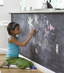 Chalkboard Sticker Peel And Stick Roll  2 x 16 Ft