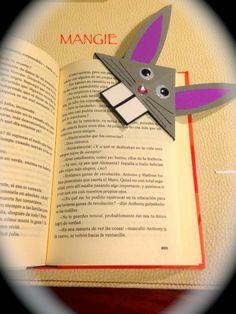 Marcapáginas conejo Bookmarks, Diy, Create, Books, Ideas, Boy's Day, Sharpies, Crafts For Kids, Blue Prints