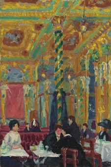 The Café Royal Charles Ginner