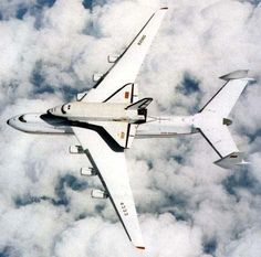 Antonov 225 with Russian Space Shuttle Buran
