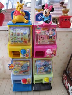 Mini Vending Machine, Vending Machines, Baby Play House, Minnie Mouse Toys, Unicorn Phone Case, Doll Videos, Barbie Toys, Diy Keychain, All Things Cute