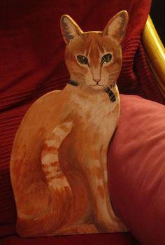 Beau, on the sofa.