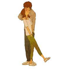 "♥ DRIVEBY KISS ~ ""Ah-ah ah. Don't walk away. I need to kiss you!"" ♥ by Puuung at www.facebook.com/puuung1 ♥"