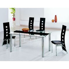 Torino Glass Dining Table Only