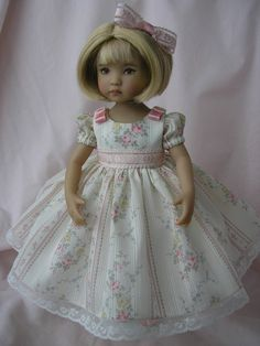 "TEA PARTY DRESS + for 13"" Dianna Effner"