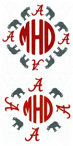 Alabama Crimson Tide svg ,  Alabama  svg , Crimson Tide svg, Monogram Digital SVG Design Silhouette Studio Software by Dxfstore on Etsy https://www.etsy.com/listing/293067405/alabama-crimson-tide-svg-alabama-svg