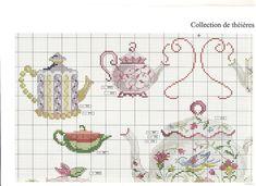 DMC Passion des collections Les théières - tea pots collection PART 1
