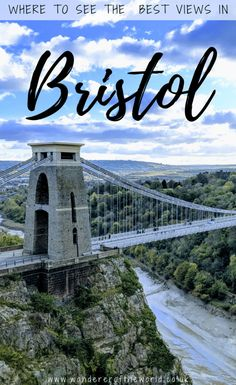 We can recommend five places where we think you'll get to see the absolute best views in Bristol and we hope you'll agree they each offer something unique. Travel Abroad, Us Travel, Bristol England, Travel Guides, Travel Tips, Travel Couple, Romantic Travel, Places Around The World, Nice View