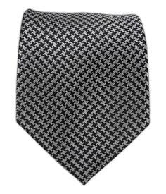 50 Shades? Big Tooth - Gray/Black XL tie