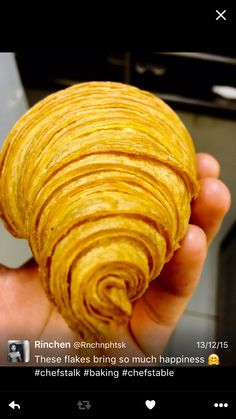 The perfect croissant #baking #croissants