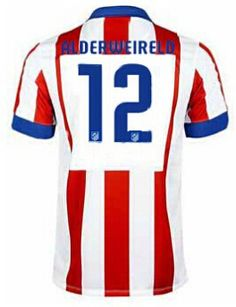 fb78536774a7c Atletico Madrid magliette da calcio 2015 ALDERWEIRELD 12- Home Madrid 2016