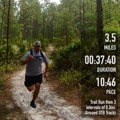 Great trail running #FitSnap shot! Download FitSnap today from the iPhone App Store to start creating your own inspirational pictures!