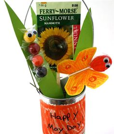 Happy May Day basket ideas