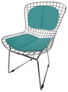 bunny chair peacock blue small outdoor patio areas pinterest