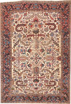 Heriz rug  size approximately 5ft. 9in. x 8ft. 5in.