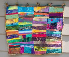 one of my pieces: Fractured Horizons (sold).... finally figured out how to transfer the photos! quilt by Eileen Cohen