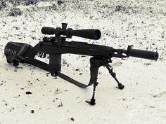 M14 SOCOM rifle