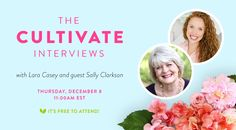 Join Lara Casey as she interviews Sally Clarkson (SallyClarkson.com), best-selling author of The Life-Giving Home,on December 8 at 11am EST, LIVE. This live webinar is free!Get practical advice and in - Watch Cultivate What Matters's recorded Crowdcast - Thu Dec 08 2016 10:00 am CST