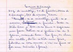 As Receitas da Avó Helena e da Avó Eduarda: Mousse de Laranja