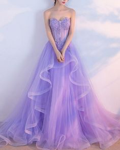 Elegant Purple Long Prom Dresses,Lilac Evening Dress, Tulle Prom Gowns,Formal Women Dress - Kleider - You are in the right place about tuxedo dress wedding Here we offer you the most beautiful picture - Lilac Prom Dresses, Lilac Dress, A Line Prom Dresses, Formal Dresses For Women, Homecoming Dresses, Dresses Dresses, Long Dresses, Dress Black, Dresses Online