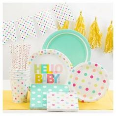 Finally! A sprinkle baby shower party theme decorations. Spritz™ Dots Party Collection : Target