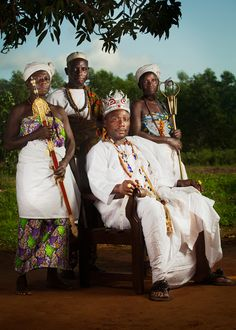 His Excellency Adanyroh Guedehoungue, King of Vodun