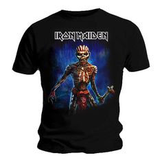 Official T Shirt Iron Maiden Eddie Book of Souls TOUR
