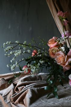 Vervain Heavy on the Ranunculus - Flowers, photos by India Hurst