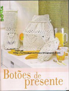 Artes by Cachopa - Croche & Trico: Jogo de cozinha