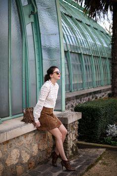 The Brunette blog mode Paris - look serre d'auteuil 3