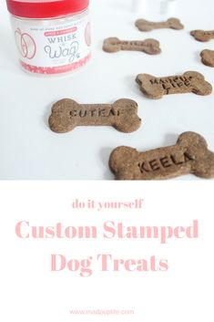 Dog Clothes Wedding DIY Your Own Custom Dog Treats Apple Cinnamon Treat Recipe.Dog Clothes Wedding DIY Your Own Custom Dog Treats Apple Cinnamon Treat Recipe Frozen Dog Treats, Diy Dog Treats, Homemade Dog Treats, Dog Treat Recipes, Healthy Dog Treats, Dog Food Recipes, Doggie Treats, Cool Dog Houses, Dog Biscuits