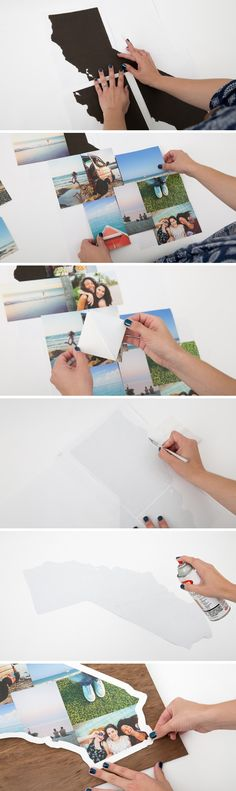 DIY State Photo Collage | SnapBox Prints