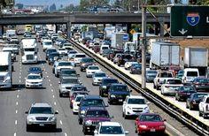 California freeways busiest in nation