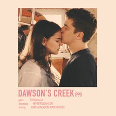 Dawsons Creek Pacey, Dawson Creek, Pacey Witter, Joey Potter, Kevin Williamson, Netflix Movies To Watch, Im Falling In Love, Minimalist Poster, Film Posters